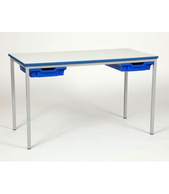 Spray PU Edge Classroom Tables With Trays