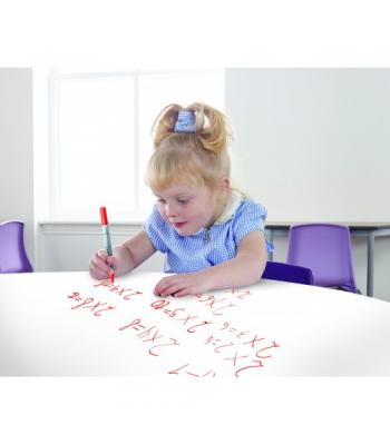 Whiteboard Top Classroom Tables