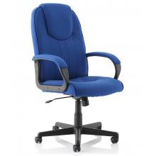 Lincoln Royal Blue Fabric Chair SALE
