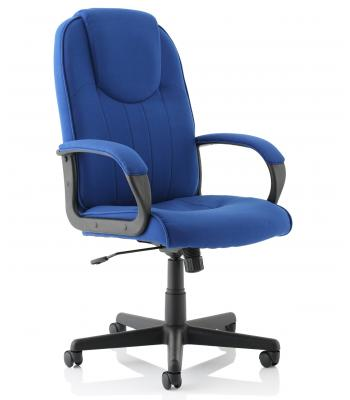 Lincoln Royal Blue Fabric Chair SALE