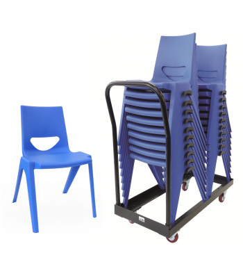 30 EN One Piece Chairs and Trolley Bundle