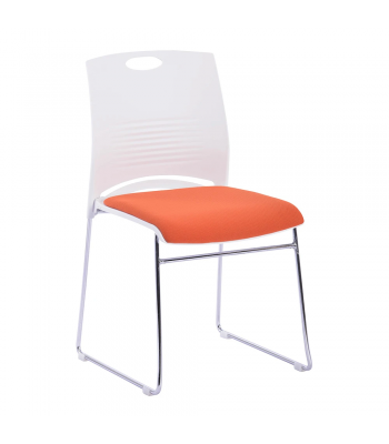 Kore Upholstered Stacking Chair (Set of 2)