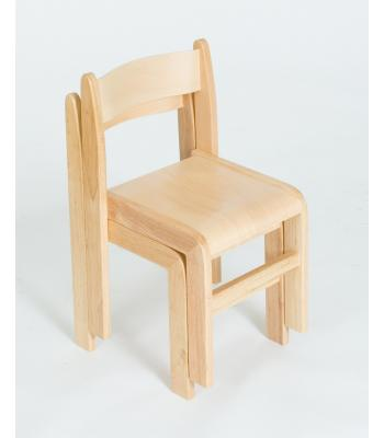 Wooden Classroom Chairs (Set of 2)
