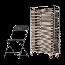 Heavy Duty Flat Back Folding Chair Packages