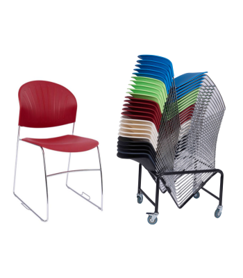 30 Strike Chairs With FREE Trolley Bundle