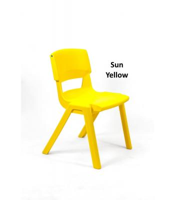 Postura Plus Chairs 430mm Sun Yellow SURPLUS STOCK