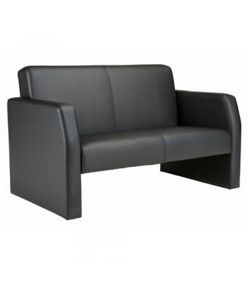 Face Leather Reception Sofa