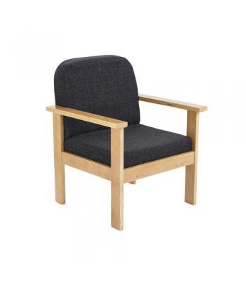 Juplo Wooden Frame Reception Armchair