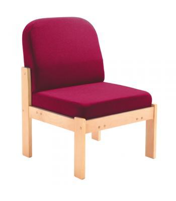 Juplo Wooden Frame Reception Chairs