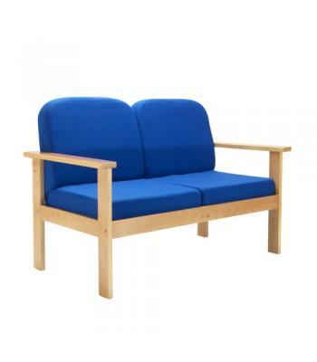 Juplo Wooden Frame Reception Sofa