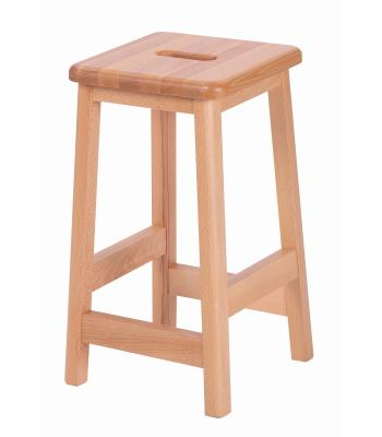 Solid Beech Wooden Lab Stools