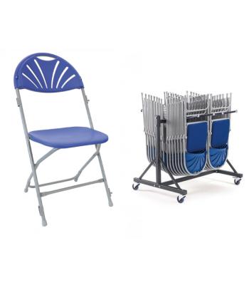 40 Fan Back Folding Chair Package