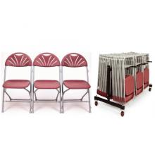 70 Fan Back Folding Chair Package