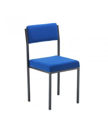 Cube Upholstered Stacking Chair