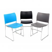 Dusk High Density Stacking Chairs