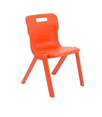 Titan One Piece Chair 310mm Orange SALE