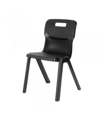 Titan One Piece Chair Sale: 380mm Black