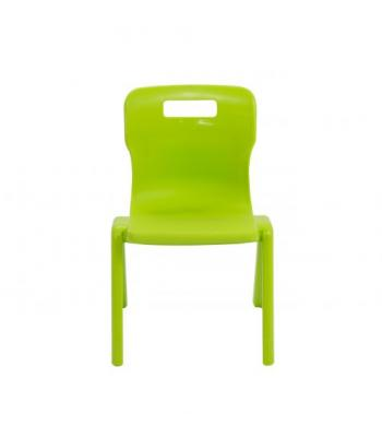 Titan One Piece Chair SALE 380mm Lime