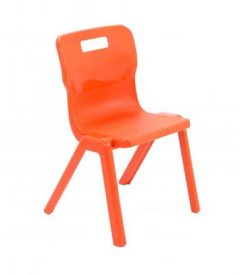 Titan One Piece Chair SALE 310mm Orange