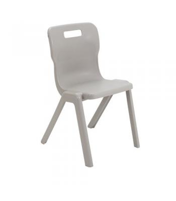 Titan One Piece Chair SALE 310mm Grey