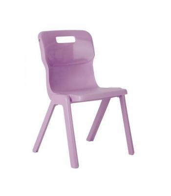 Titan One Piece Chair Sale: 350mm Purple