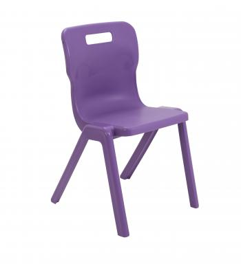 Titan One Piece Chair SALE 310mm Purple