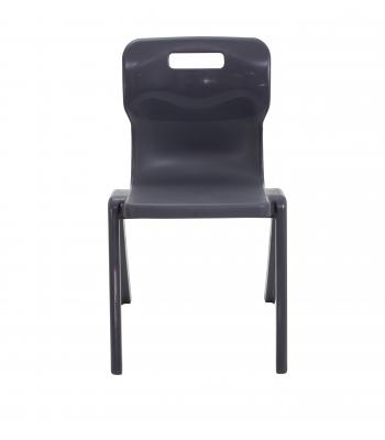 Titan One Piece Chair SALE 350mm Charcoal