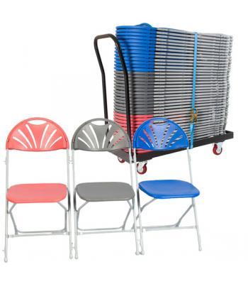 Zlite Fan Back Folding Chair Packages