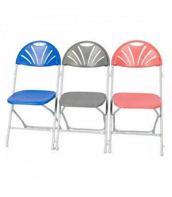 Zlite Fan Back Folding Chairs