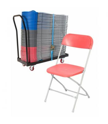 Zlite Straight Back Folding Chair Packages