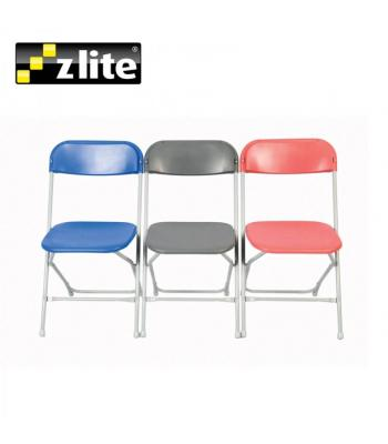 Zlite Straight Back Folding Chairs